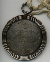 Malcolm McLeod Weavers Medal, Front