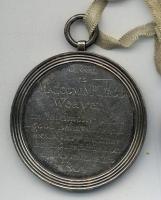 Malcom McLeod Weavers Medal, Back
