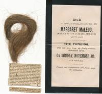 Margaret McLeod (Rutherford) death notice
