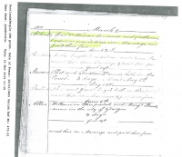 Malcom McLeod & Catherine Cameron Marriage Notice
