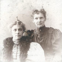 Minnie Garrard and Mary Macleod