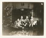 From Left: Robert, David, Garrard, George Macleod