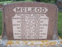 Malcolm McLeod Family Grave