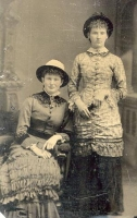 Mary McLeod 1853 and Catherine McLeod 1854