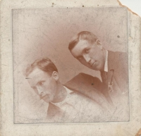 George Duncan McLeod (Left) and Unknown